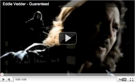 eddie vedder into the wild guaranteed, wedding music, cool wedding song, alternative wedding song