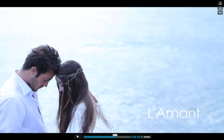 L'Amant Teaser Video The LANE, fashion editorial, fashion film, wedding fashion video, karissa fanning, sybil steele