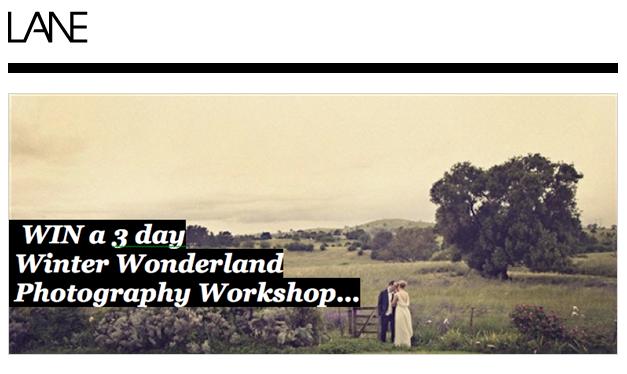 christine pobke winter wonderland, the  lane, photography workshop