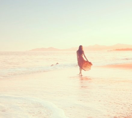 karissa fanning, mexico, beach, sunset, freedom, free spirited, the lane, lauren ross