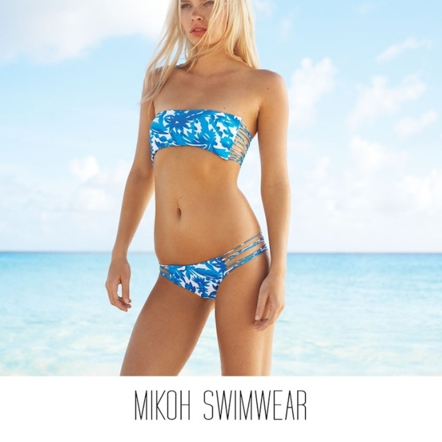 Mikoh Swimwear, kalani miller, kelly slater, the lane wedding website, wedding honeymoon