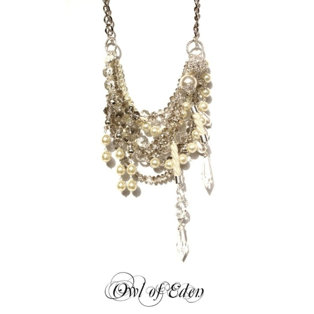 Owl of Eden, Bridal Jewellery, Statement Necklaces, The LANE, wedding blog, australian wedding blog