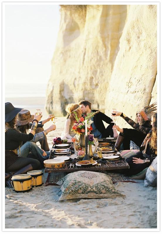 Bohemian Wedding Decor