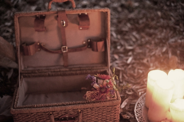 Bohemian Love Story_The LANE Event Styling_Vintage Picnic Basket