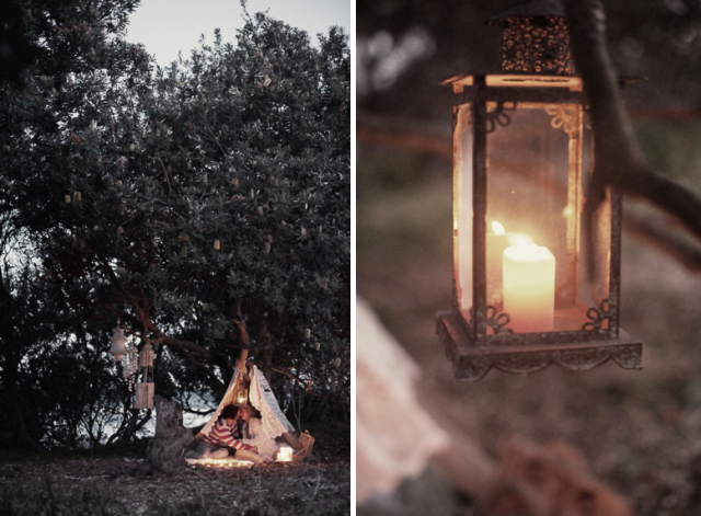 Bohemian Wedding Decor Vintage Lantern_Couple Tent