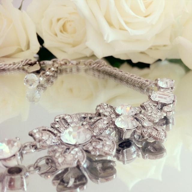 Badgley Mischka Necklace Bridal Jewelry Pierre Winter