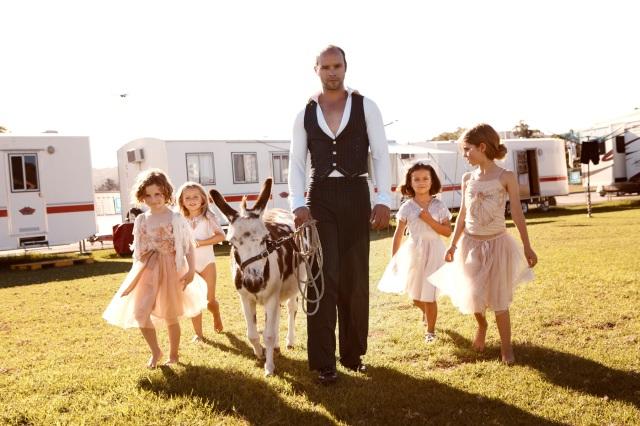 Tutu du monde circus flowergirl campaign 2012