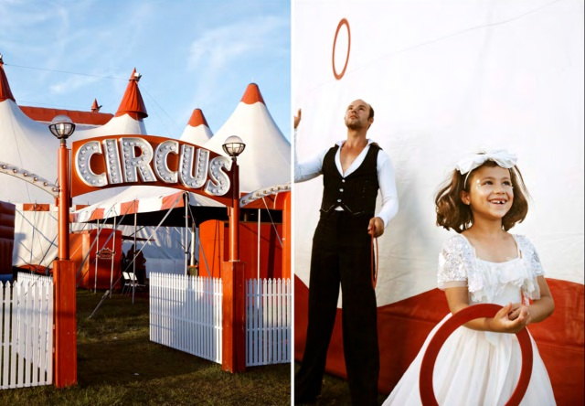 Tutu du Monde Flowergirl Collection 2012, circus wedding