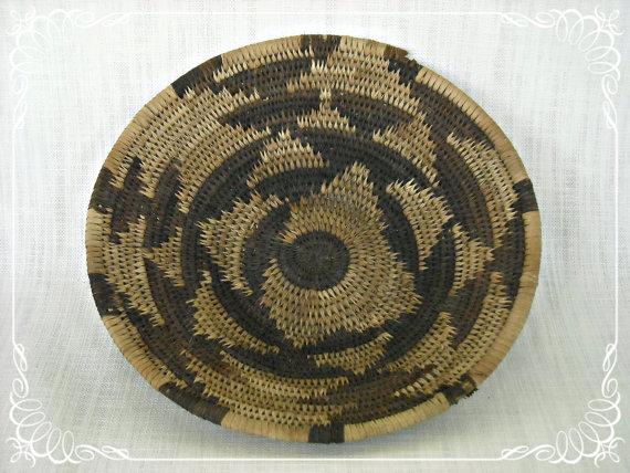 vintage african basket etsy bohemian wedding