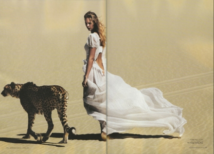 Harpers Bazaar April 2012 Will Davidson vintage dress from The Vintage Closthing Shop