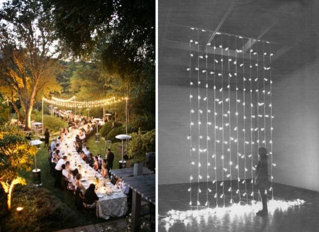 The LANE Wedding Reception Ideas Wedding Lighting Table Shapes