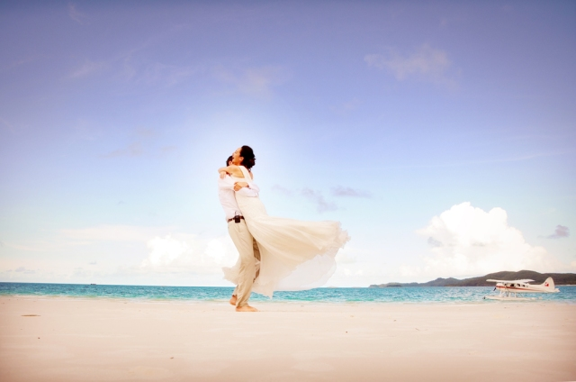 Whitehaven Beach Destination Wedding